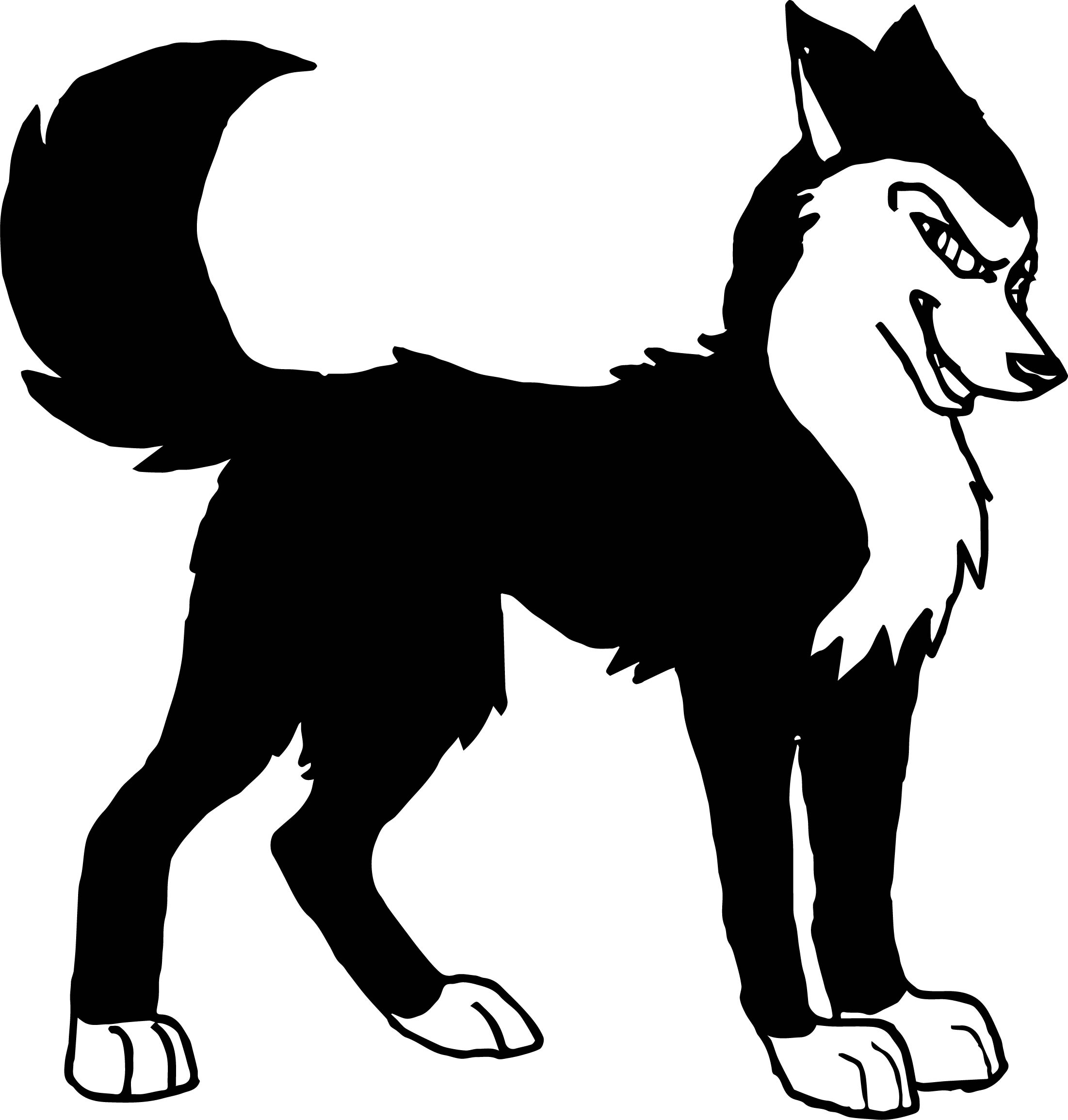 Balto Erika Wolf Coloring Page