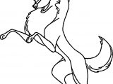 Balto Girl Wolf Joy Coloring Page