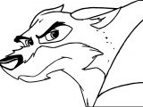 Baltos Glare Wolf Coloring Page