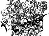 Batman Tas Tattoo Design Coloring Page