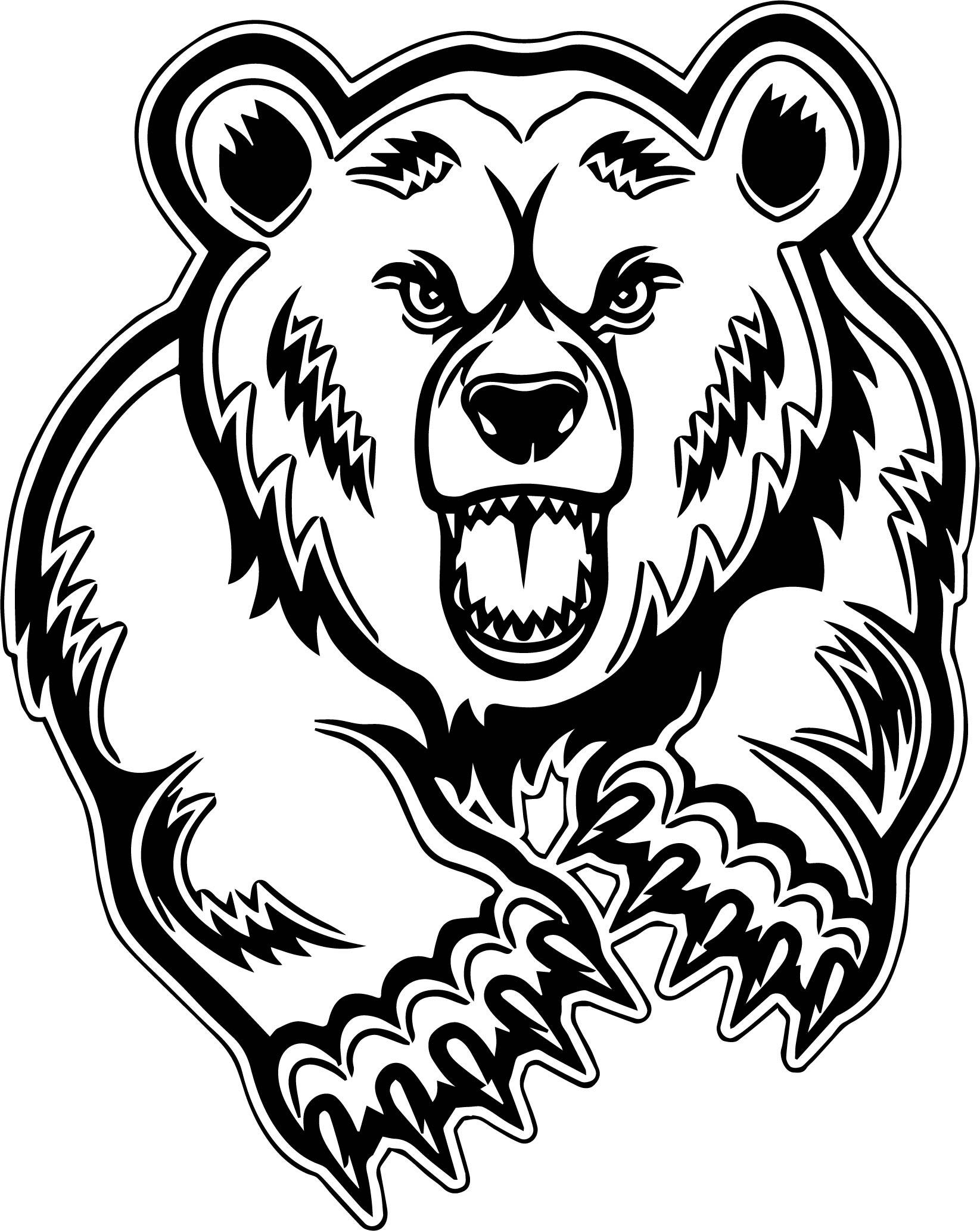 mascot and coloring pages - photo#22