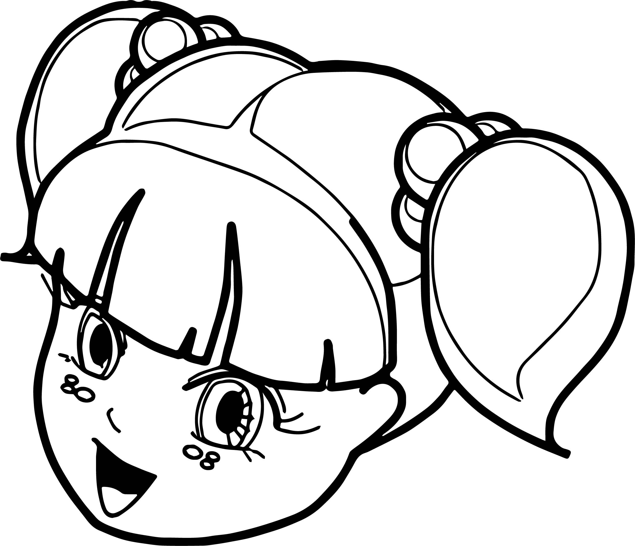 Boy Girl Face Coloring Page