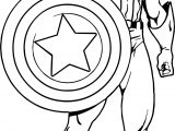Captain America Captain Ready Coloring Page
