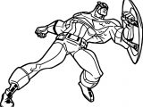 Captain Guard Coloring Page