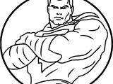 Captain Power Man Coloring Page