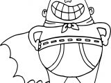 Captain Underpants Coloring Page