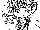 Chibi Bakugan Coloring Page