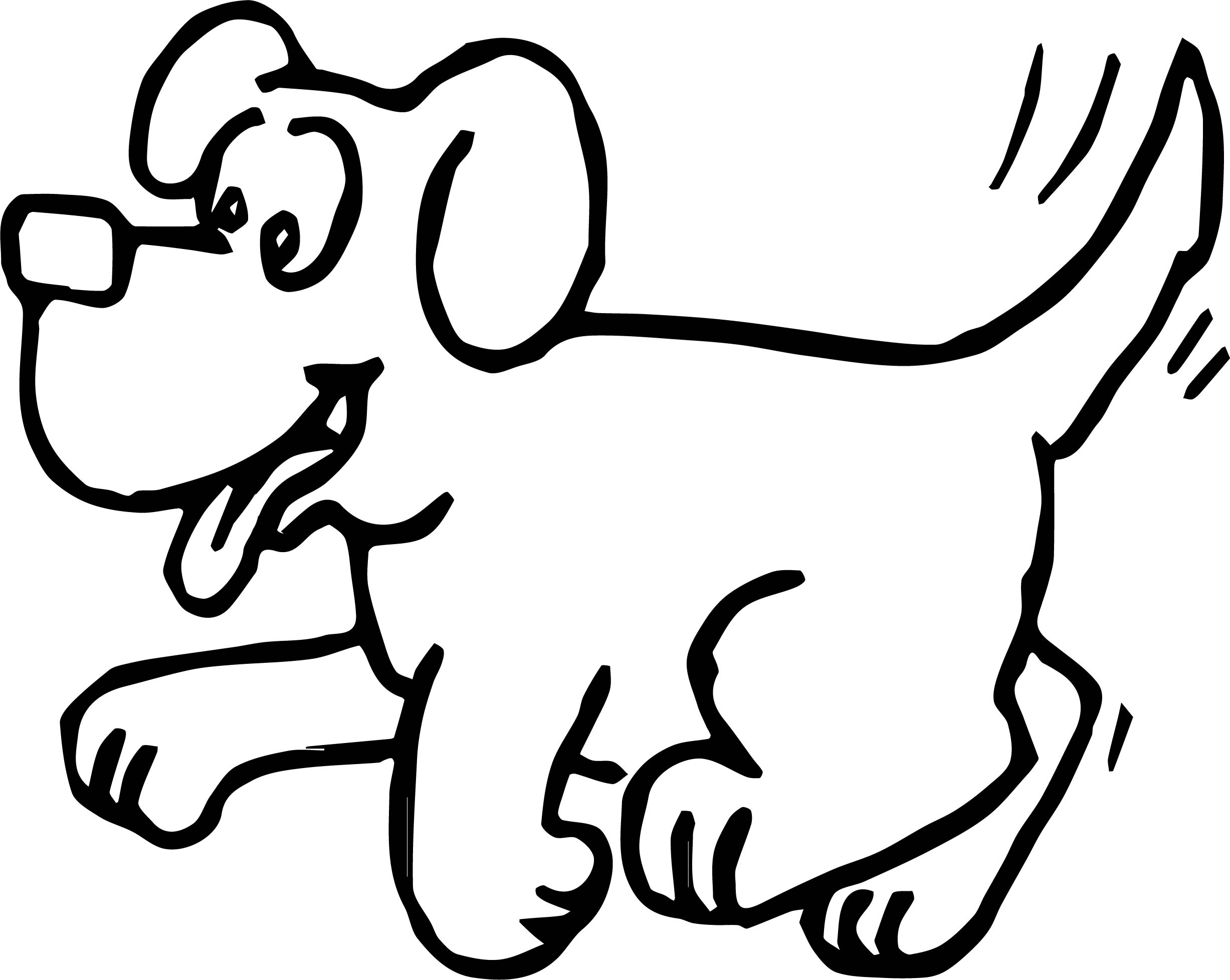Dog Body Language Coloring Page for Children  Sarah Wilson