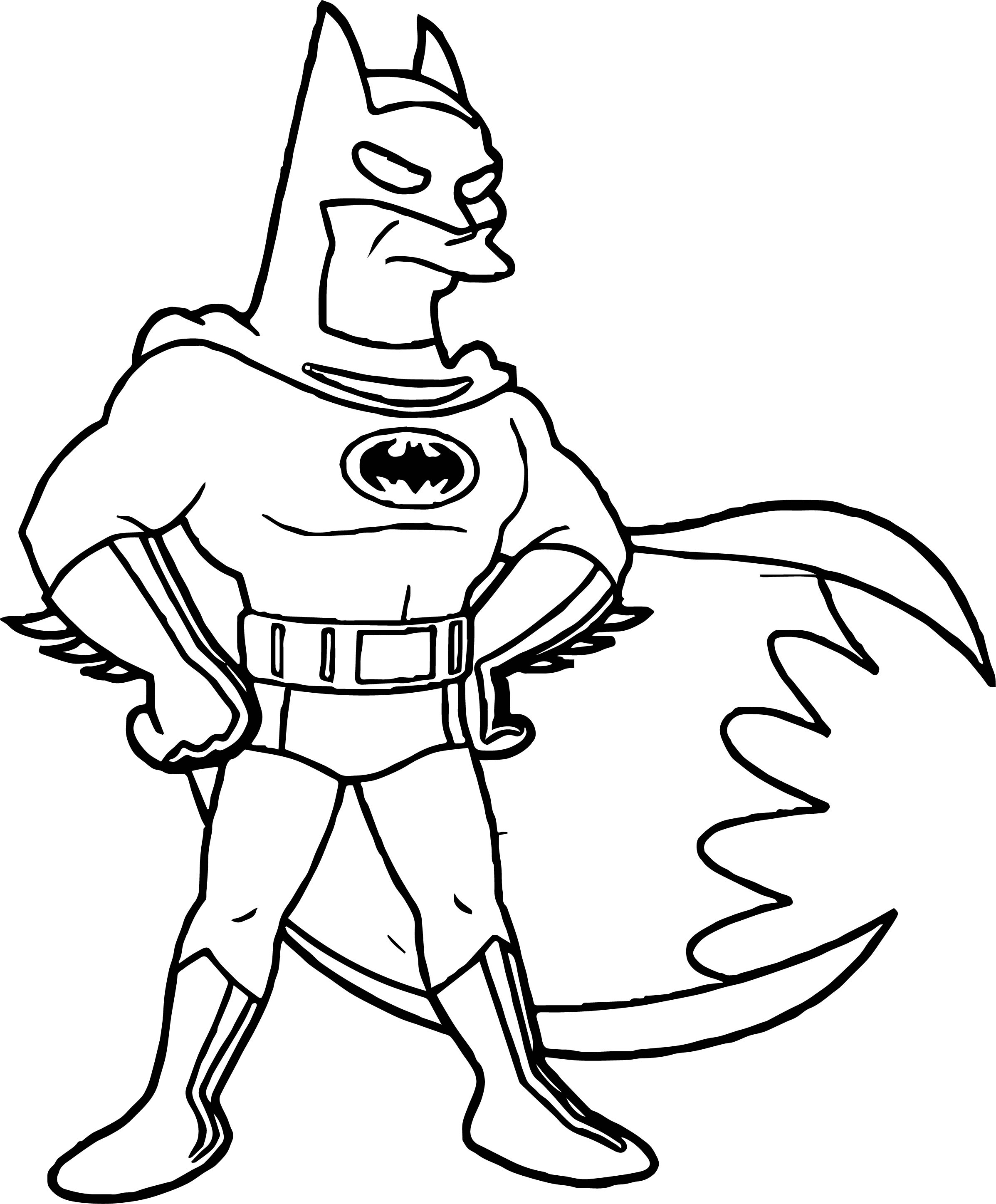 DC Comics Batman The Animated Series Coloring Page ...
