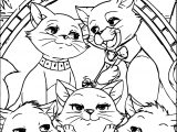 Disney The Aristocats Photo Coloring Page