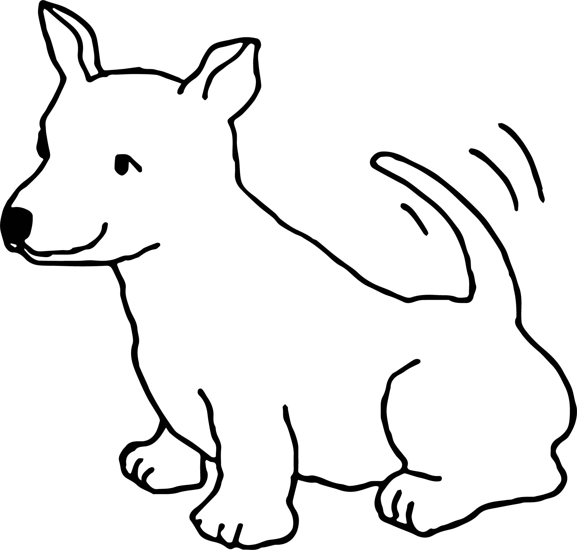 coloring pages of cute dogs and puppies - funny dogs happy cute dog color puppy dog coloring page