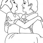 Happies Snow White And The Prince Coloring Page