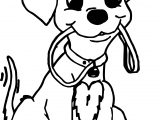 Happy Dalmatians Puppy Dog Coloring Page