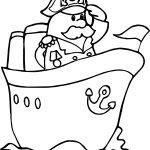 Hi Captain And Shi Coloring Page