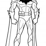 Hush Batman Coloring Page