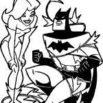 Ivy Position Cath Batman Coloring Page