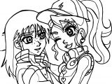 Julie And Billy Bakugan Battle Brawlers Coloring Page