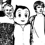 Kristen Bell Astro Boy Premiere Coloring Page