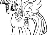 New Princess Twilight Sparkle Coloring Page