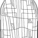New Stained Glass Coloring Page