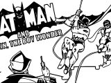 Oh Looky I Maed A Batman Cartoon Coloring Page