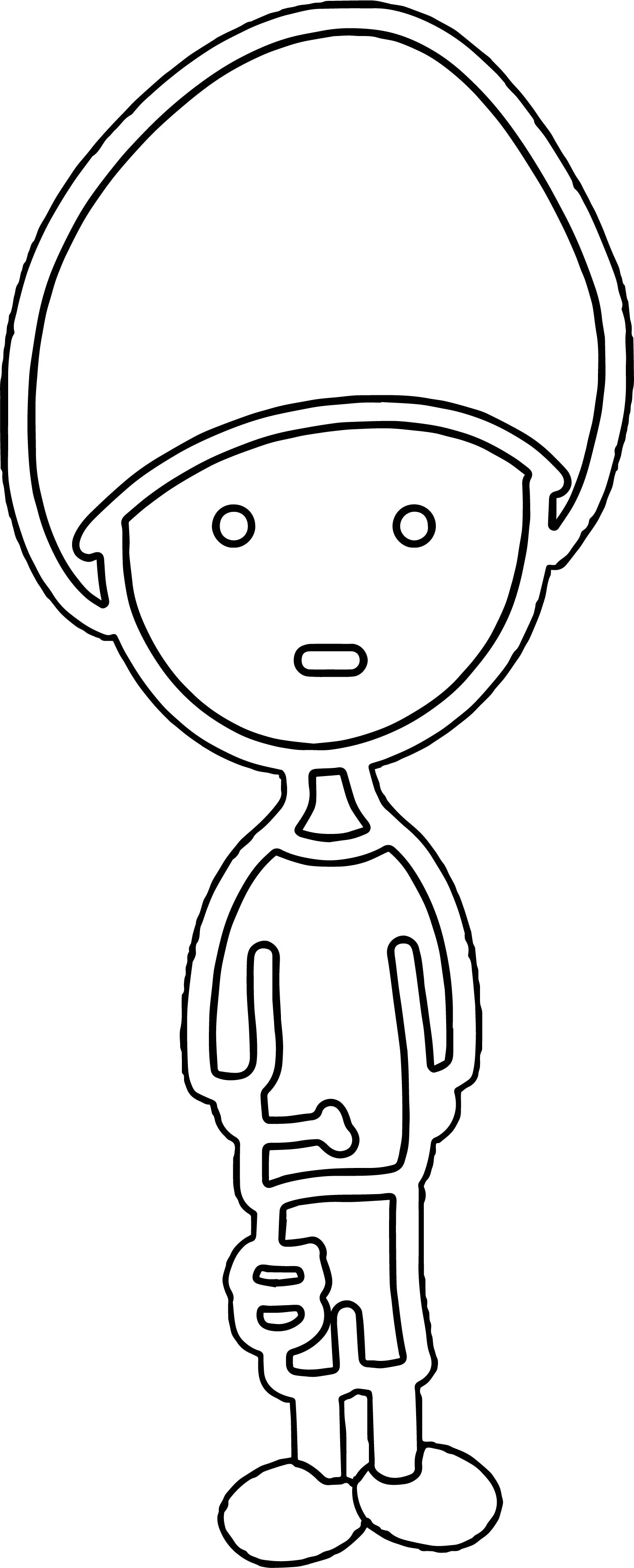 Outline boy coloring page for Outline of a boy and girl coloring pages