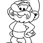 Papa Smurf Fanfiction Coloring Page
