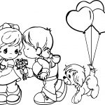Precious Moments Love Is Coloring Page