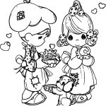 Precious Moments Make Cook Coloring Page