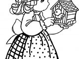 Precious Moments Play Bird Coloring Page