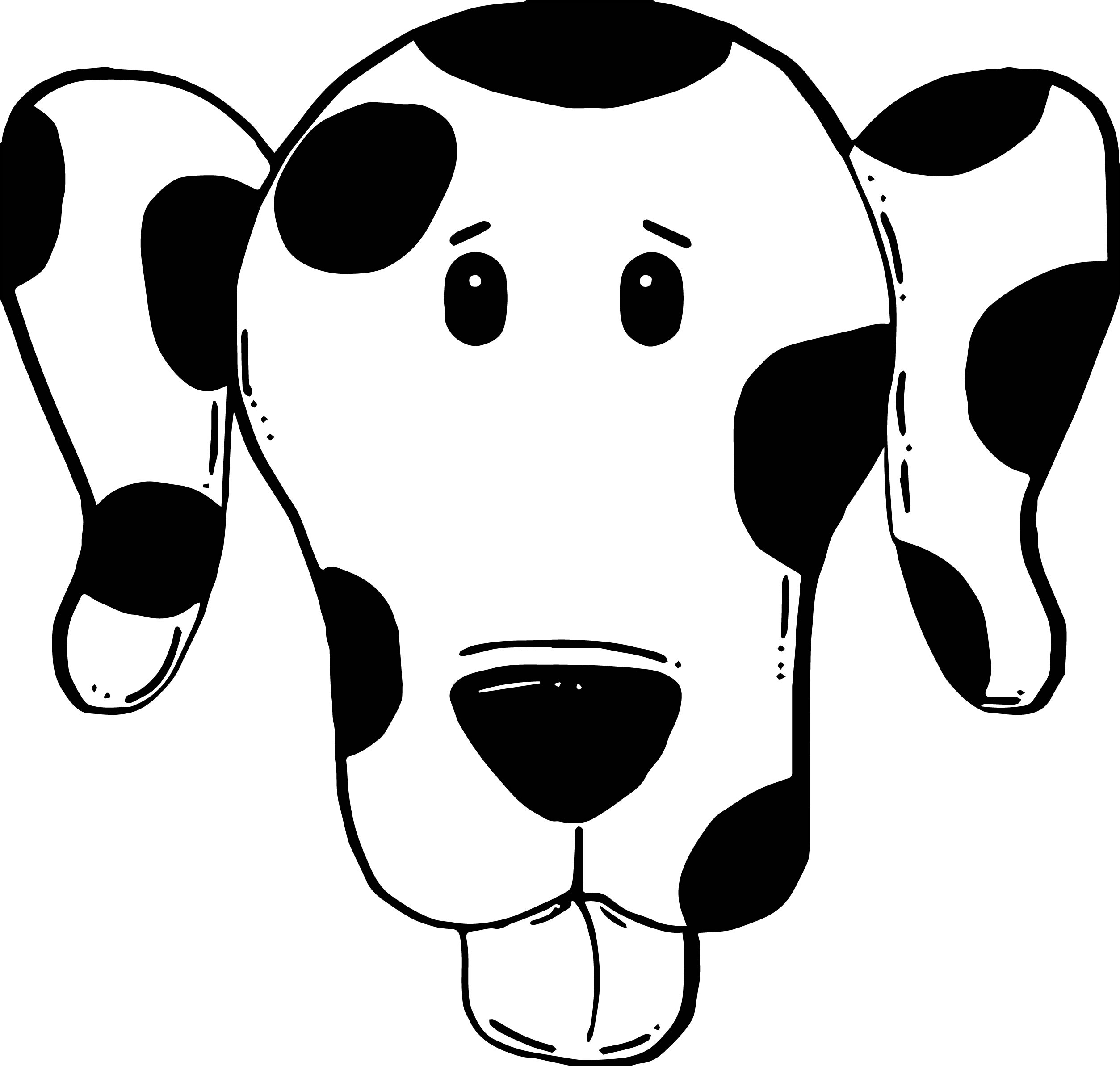 Puppy Dog Face Panda Style Free Images Dog Puppy Coloring Page