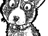 Puppy Dog Fur Coloring Page
