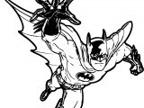 Roommates Batman Gotham Guardian Giant Peel Stick Coloring Page