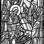 Seed 2015 Stained Glass Picture Coloring Page