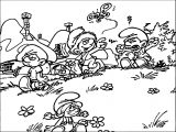 Smurfs Wallpaper The Smurfs Village Coloring Page