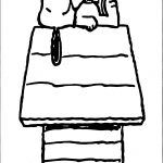 Snoopy I Could Lay Coloring Page