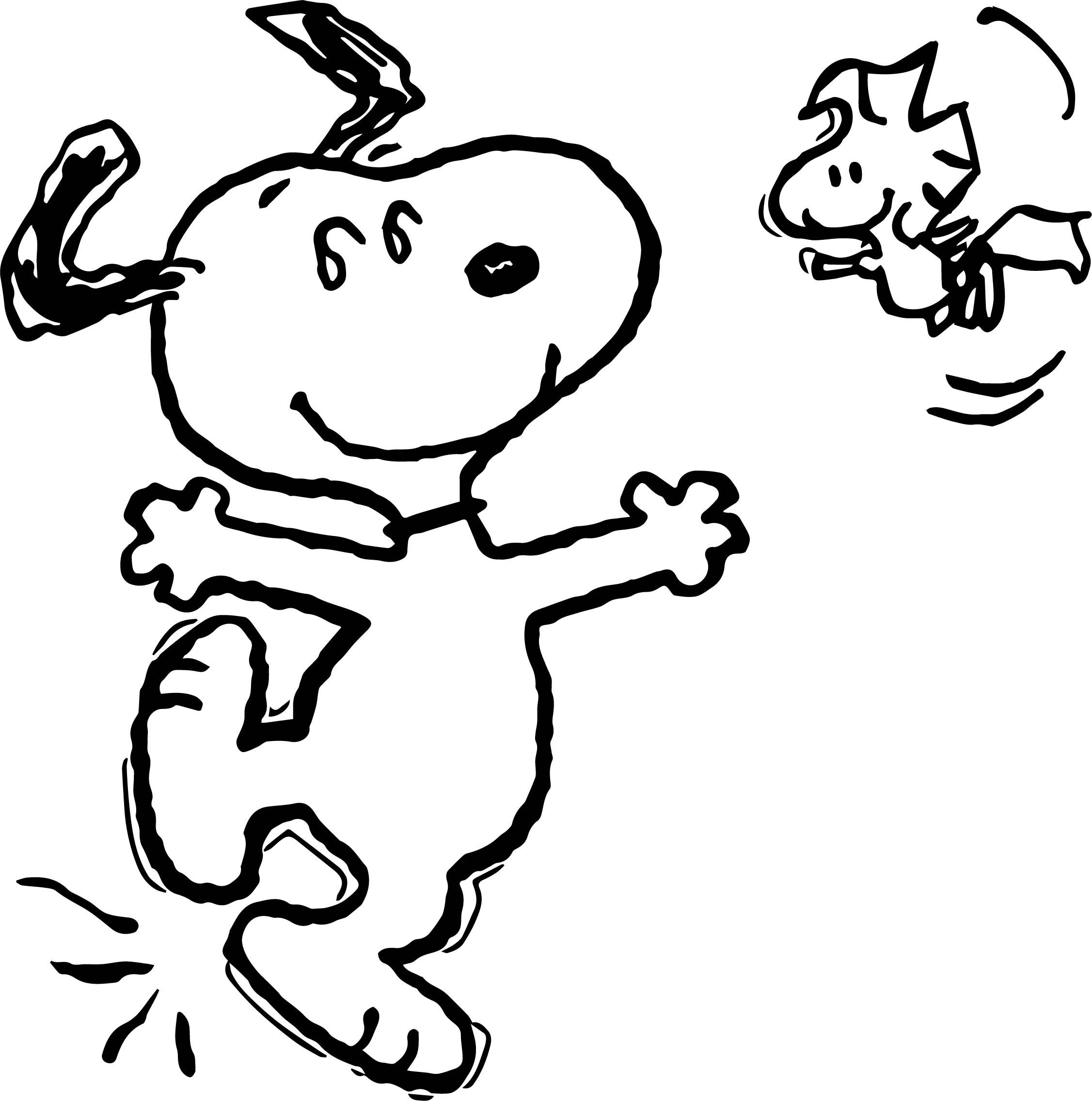 Snoopy Kon Colors Coloring Page