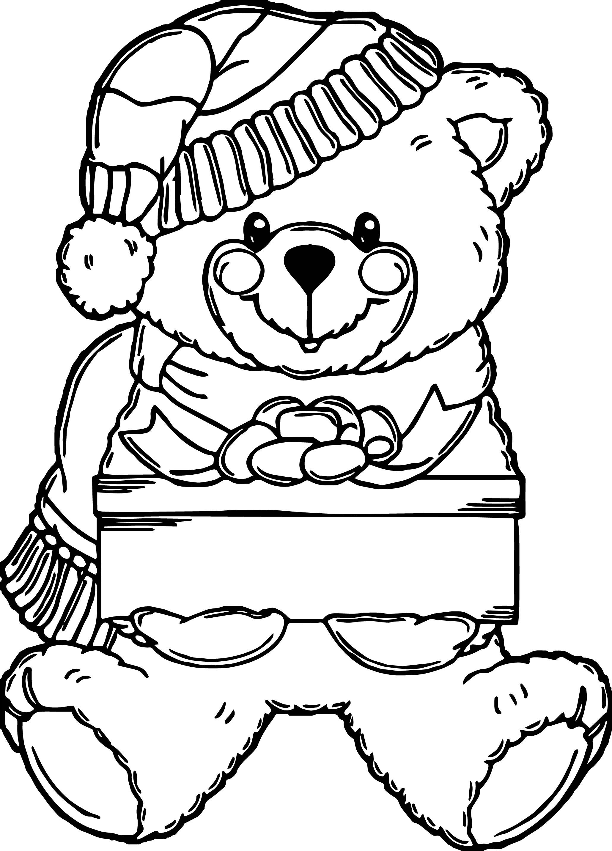 snow bears coloring pages - photo#23