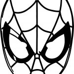 Spider Man Masks Pack Of Spider Man Coloring Page