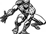 Spider Man Romita Spider Man Coloring Page