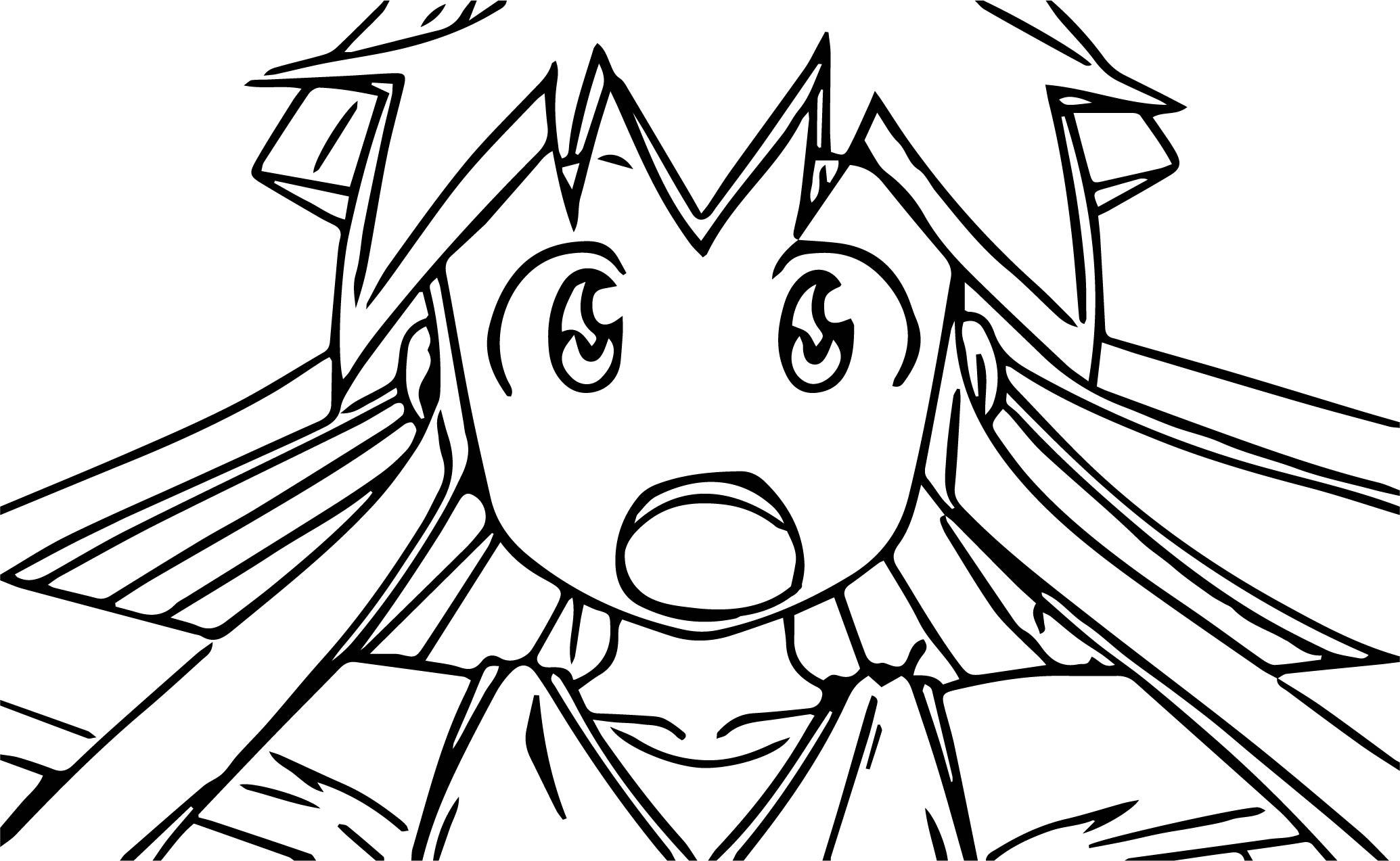 Squid Girl Season Shock Episode Cartoon Coloring Page