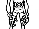 Teen Titans Go Robin Adult Coloring Page