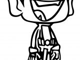 Teen Titans Go Robin Icon Happy Coloring Page