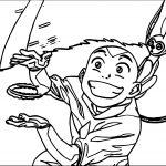 Tumblr Avatar Aang Coloring Page