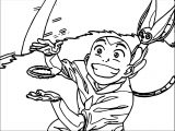Tumblr Avatar Aang Coloring Page