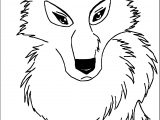 Wolf Lineart Balto Style Coloring Page