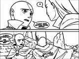 Aang And Yangchen Avatar Aang Coloring Page