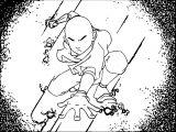 Aang Avatar The Last Airbender Avatar Aang Coloring Page