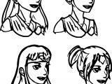 Aang Genderbend Hair Styles Themightfenek Avatar Aang Coloring Page