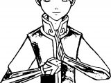 Aang Samie Avatar Aang Coloring Page